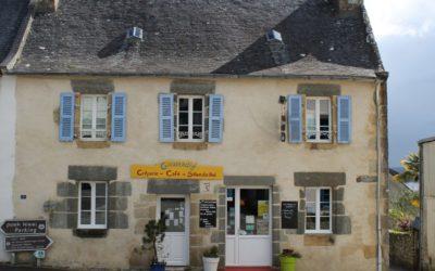 Presqu'ile de Crozon et plus précisément prés de l'abbaye de Landevennec